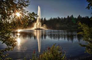 Lost Lagoon Jubilee Fountain