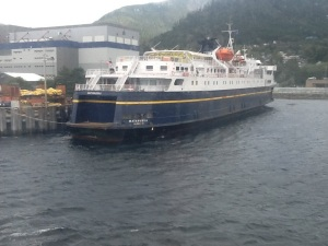 Matanuska docked at Ketchikan