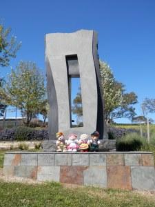 Spatial Tension, by Luke Zwolsman, Australia Bluestone, Mt Barker - East Parkway (off Hurling Drive)