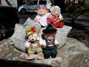 Prickly 3, by Jaya Schuerch, Switzerland Corner Gawler and Walker Streets, Mt Barker