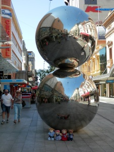 The Spheres, by Bert Flugelman