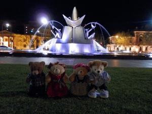 Three Rivers Fountain, Victoria Square