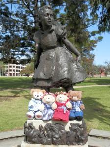 Alice, by John Dowie, in Rymill Park
