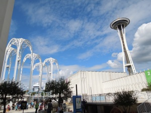 Pacific Science Center and Space Needle