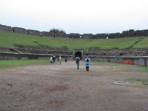 Amphitheatre - inside