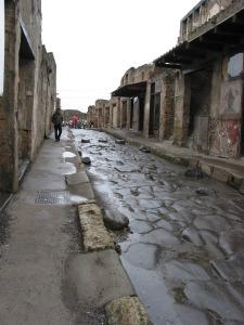 Pompeii street, 21 October 2007
