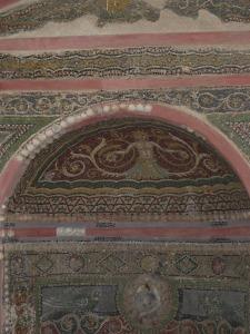 Fountain - mosaic detail