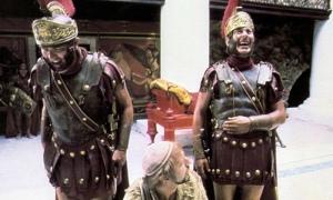 Monty Python's Life of Brian. Photograph: Sportsphoto Ltd./Allstar