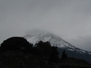 Wintery Mt Vesuvius on 21 October 2007