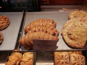 Cherry & custard strudel at Lüneburger German Bakery, Queen Victoria Building