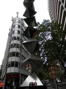 Dobell Memorial Sculpture, 1979 by Herbert Flugelman