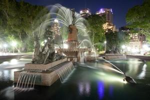 Archibald Fountain, Hyde Park
