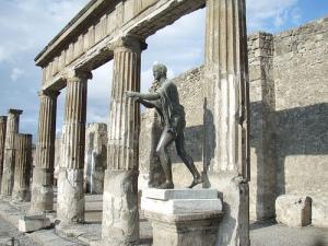 Statue at Temple of Apollo