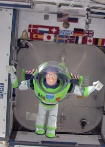 Buzz on the ISS