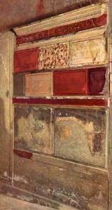 Samnite House, Herculaneum (First style)