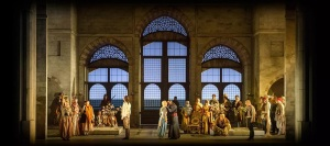A production of The Abduction from the Seraglio, not the one in Salzburg