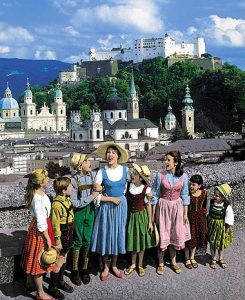 The Sound of Music Scene in Salzburg