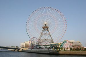 Cosmo Clock 21, world's tallest wheel 1989 to 1997