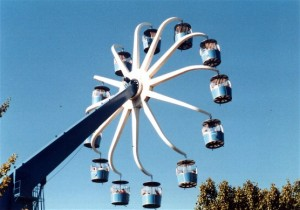 Giant Wheel, a double wheel