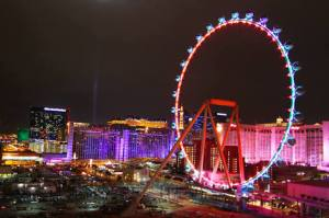 The High Roller, world's tallest Ferris wheel