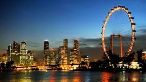 Singapore Flyer, world's tallest Ferris wheel 2008-2014