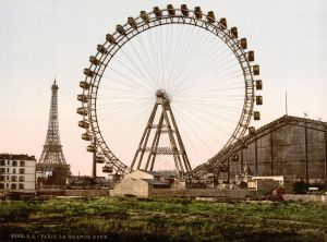 The 100 m Grande Roue de Paris, world's tallest Ferris wheel 1900–1920