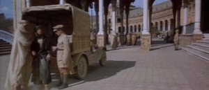 Lawrence of Arabia in Plaza de Espana