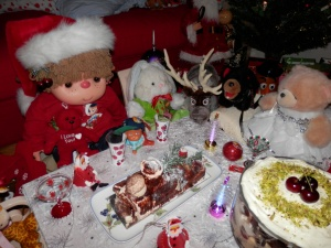Kirsch Christmas Log from Chez Jean-Claude  http://www.chezjeanclaudepatisserie.com.au