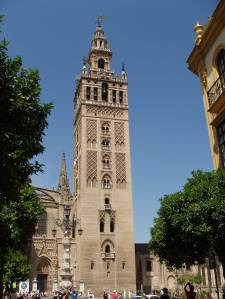 La Giralda, the bell tower of the Seville Cathedral