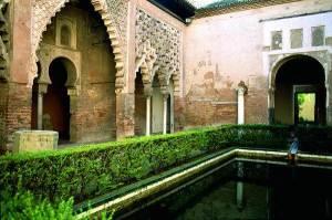 Alcázar of Seville, Almohad Patio del Yeso