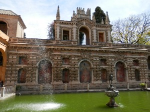 Alcázar of Seville, Mercury's Pool