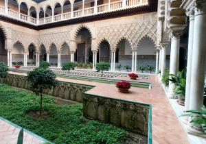 Alcázar of Seville, The Courtyard of the Maidens