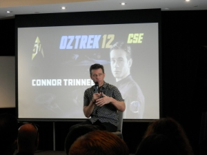 "Connor Trineer, 'Charles ""Trip"" Tucker III ' on Star Trek Enterprise"