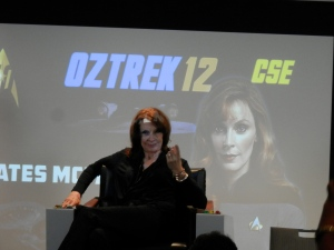 Gates McFadden, 'Dr Beverly Crusher' on Star Trek: The Next Generation