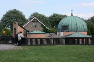 Tycho Brahe's observatory on the Island of Hven