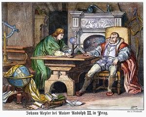 Johannes Kepler and Rudolf II in Prague