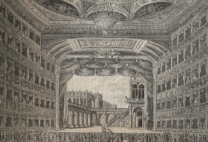 Interior of first theatre, 1829