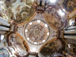 Dome of St Nicholas Church, Lesser Town, Prague