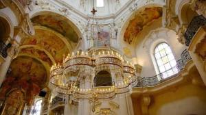 Interior of St Nicholas Church, Old Town Square, Prague