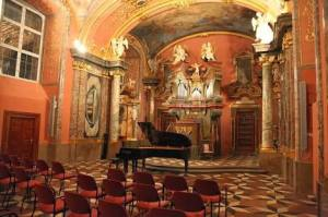 The Chapel of Mirrors, Klementinum, Prague