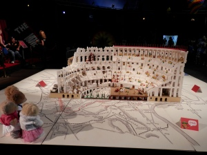 Rome's Colosseum, by Ryan McNaught (approx. 200,000 bricks)