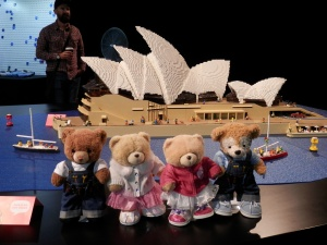 Sydney Opera House, by Ryan McNaught (fourth model built of the Opera House)