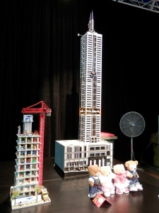 101 Collins St, Melbourne, by Ryan McNaught (approx. 15,000 bricks)