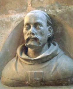 Cathedral of St Vitus, Bust of Peter Parler in the triforium
