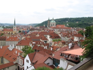 Lesser Town, view from Prague Castle