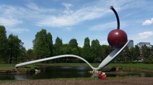 The Cherry and Spoon Sculpture