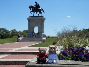 Hermann Park, Sam Houston Monument