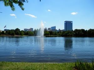 Hermann Park, McGovern Lake