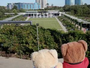 Hermann Park, McGovern Centennial Gardens, View from the mount