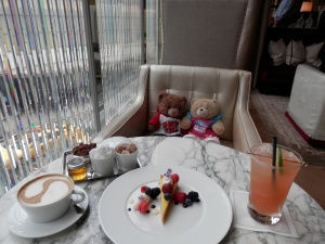 Dessert at the Grand Salon